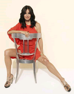 Courtney Cox from Cougar Town